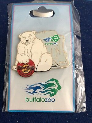Hard Rock Cafe Buffalo Zoo Polar Bear Gold 53691