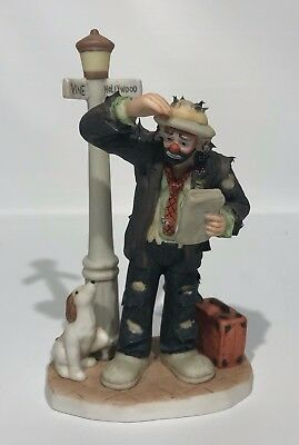 Emmett Kelly Jr. Collectible Figurine Exclusively From Flambro #0534 Nice