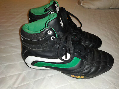 Lonsdale Professional Boxing / Wrestling Boots Uk8 Eu42 Cm26.5 Ireland Colours
