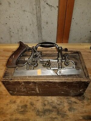 Stanley no. 55 combination plane with cutters