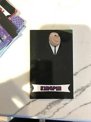 Spiderman: Into The Spider-Verse AMC 3 card pack Kingpin Card