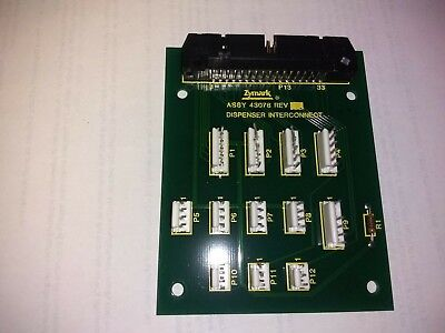Zymark Board ASSY 43078 / 43079 Dispenser Interconnect