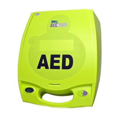 Zoll AED Plus Semi Automatic AED with New Batteries CPR-D Pads Two Year Warranty