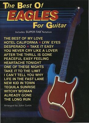 Best of the Eagles - Guitar Tab Songbook - Alfred Publishing USA