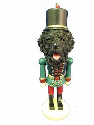 Newfoundland Newfie Dog Toy Soldier Nutcracker Christmas Ornament