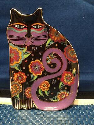 Laurel Burch Feline Fantasy Plate-Royal Doulton Franklin Mint-1995