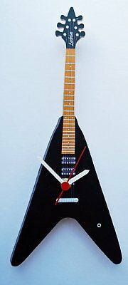 Gibson Flying V Clock - Black - G23