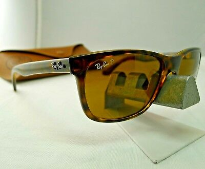 9117540cf7 Ray-Ban Rb4181 710 83 Tortoise B-15 Brown Classic Polarized Sunglasses 58Mm