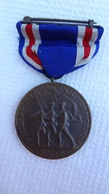 No 2914 Army Philippine Congressional Insurrection USA Military numbered medal