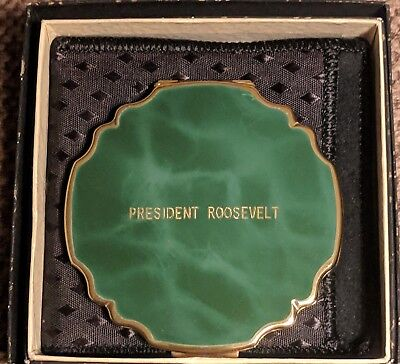"""President Roosevelt Compact"" American President's Cruise Line Souvenir"