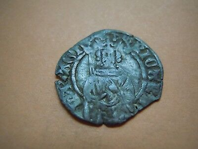 Richard II Medieval Silver Hammered Penny Scarce