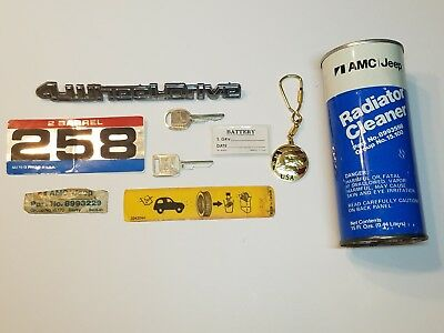 AMC Eagle LOT NOS up to 1984 Keys other collectibles