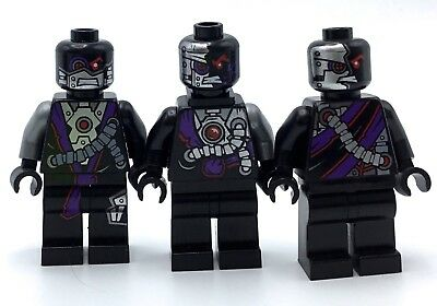 Lego Ninjago Minifigure Lot of 4 General Cryptor,Nindroid Warrior,Mindroid,Drone