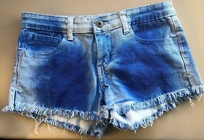 BUTTER Super soft GIRLS JEAN SHORTS SIZE 5 DENIM