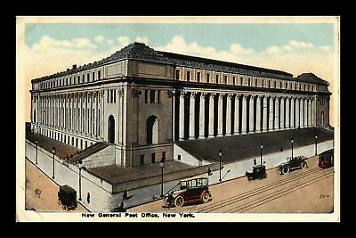 Dr Jim Stamps Us New General Post Office New York White Border View Postcard