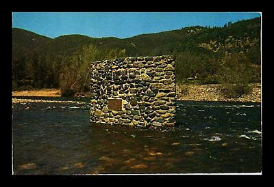 Dr Jim Stamps Us Site Sutters Saw Mill Coloma California View Postcard