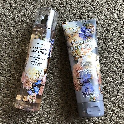 Bath & Body Works Mist And Body Cream - Almond Blossom