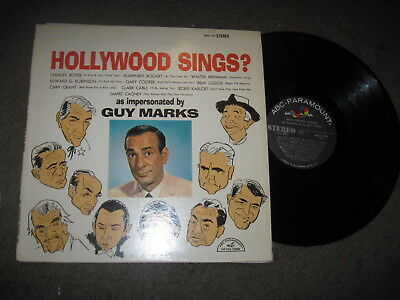 Guy Marks HOLLYWOOD SINGS ABCS 549 NM- WITH SLEEVE RARE