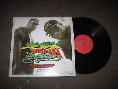 BOOGIE DOWN PRODUCTIONS The Breaks (2nd Edition) LP NEW VINYL Bronx River Issac
