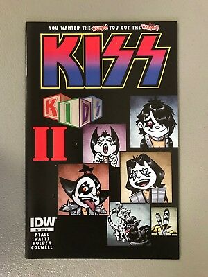 KISS KIDS 2 RI VARIANT First Printing Gene Simmons Paul Stanley Ace Frehley HOT