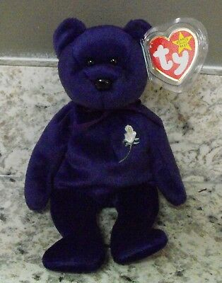 first edition princess diana beanie baby value