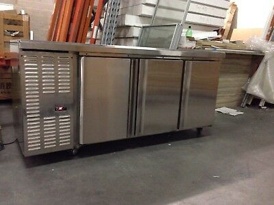 Commercial 2 Door Fridge Work bench Counter Or 3 DoorUnder Bench Fridge