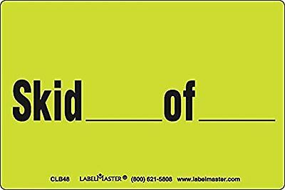 """Labelmaster CLB48 Skid of Label, 4"""" x 6"""" (Pack of 500)"""