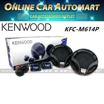 Kenwood KFC-M614P Car Audio Component Speaker With Crossover