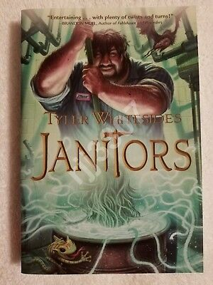 Janitors Book 1 Book 2 Tyler Whitesides Hardcover 1 Book