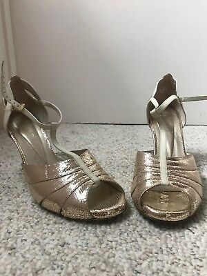 Tango Shoes women (gold, size 10, custom, new)