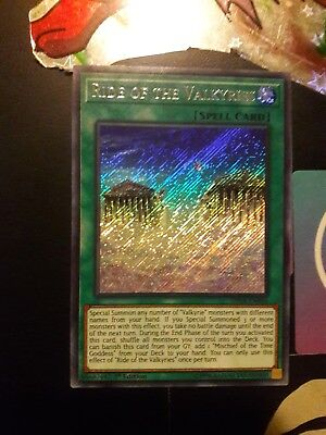 Ride of the Valkyries - SHVA-EN006 - Secret Rare - 1st Edition Gem-mint To Mint