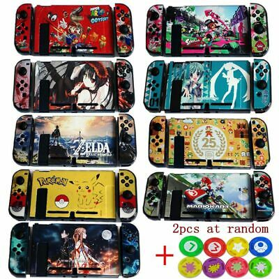 Style Case For Nintendo Switch Console Dockable Hard Thin Case Shell Covers