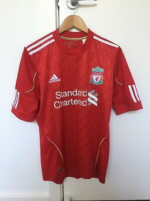 Liverpool FC 2010 Home Top Mens Size S