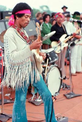 Jimi Hendrix Woodstock Poster 24x36 inch rolled wall poster