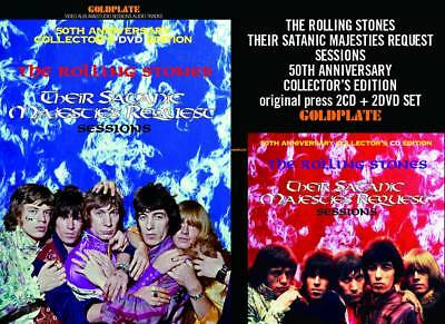 The Rolling Stones Their Satanic Majesties Request Sessions 2Cd+2Dvd *f/s