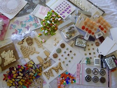 Bulk Pack of Assorted Scrapbooking Embellishments