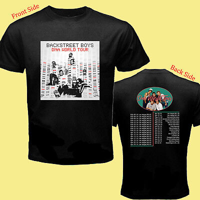 Limited BACKSTREET BOYS DNA WORLD TOUR 2019 Concert Tshirt Size S to 5XL