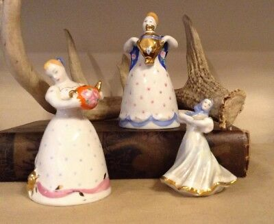 Vintage Russian Porcelain Figurines