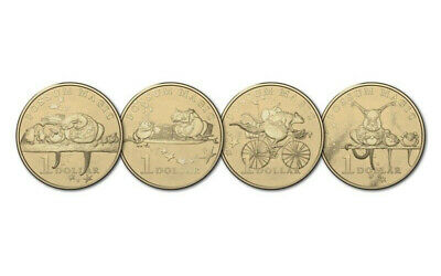 2017 - Possum Magic - 4x Uncirculated $1 - From 8 Coin Set - Free Fast Shipping!
