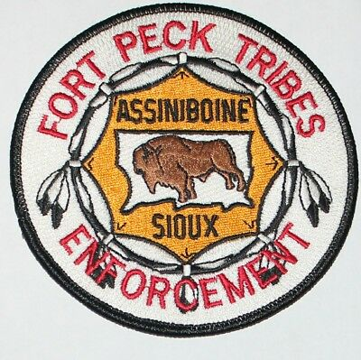 FORT PECK TRIBES ENFORCEMENT Montana MT Indian Police patch