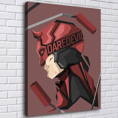 Super hero Daredevil Poster HD Canvas print Painting Home Decor Room Wall art 79