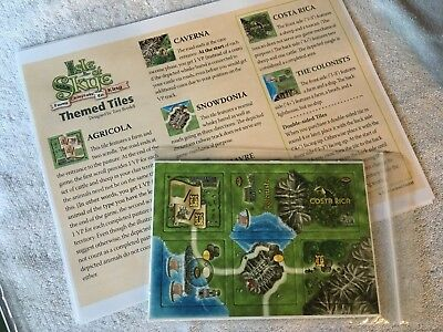 Isle of Skye From Chieftain to King PROMO - Themenplättchen + Rules NEW!