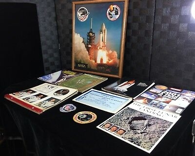 NASA Space Large Photo Print 1335 Mission Patches Book Pictures Magazines Photos