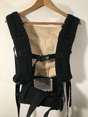Ergo Baby Carrier Classic Original Cotton Canvas Black