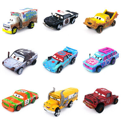 Disney Pixar Cars 3 Thunder Hollow 1:55 Diecast Model Metal Toy Car Boys Gifts