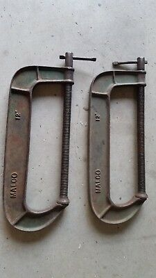 G clamps Malco used 12inch