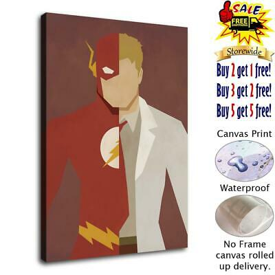 Super hero Flash 2 HD Canvas prints Painting Home Decor Picture Room Wall art 50