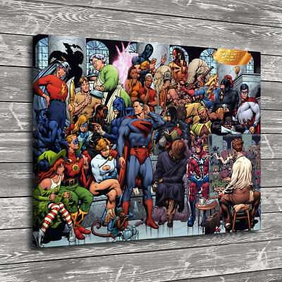 Super hero HD Canvas prints Painting Home Decor Picture Room Wall art 106598