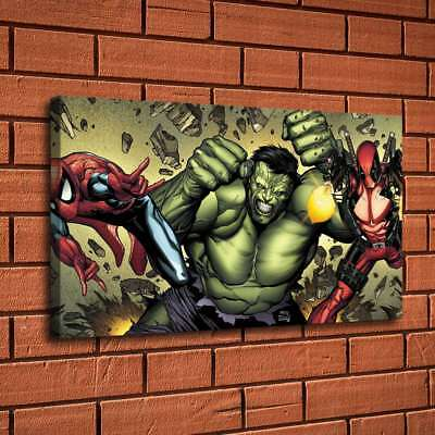 Super hero Hulk HD Canvas prints Painting Home Decor Picture Room Wall art 07388