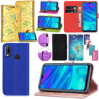 For Huawei Honor 10 Lite PU Leather Wallet Kickstand Flip Magnetic Case Cover